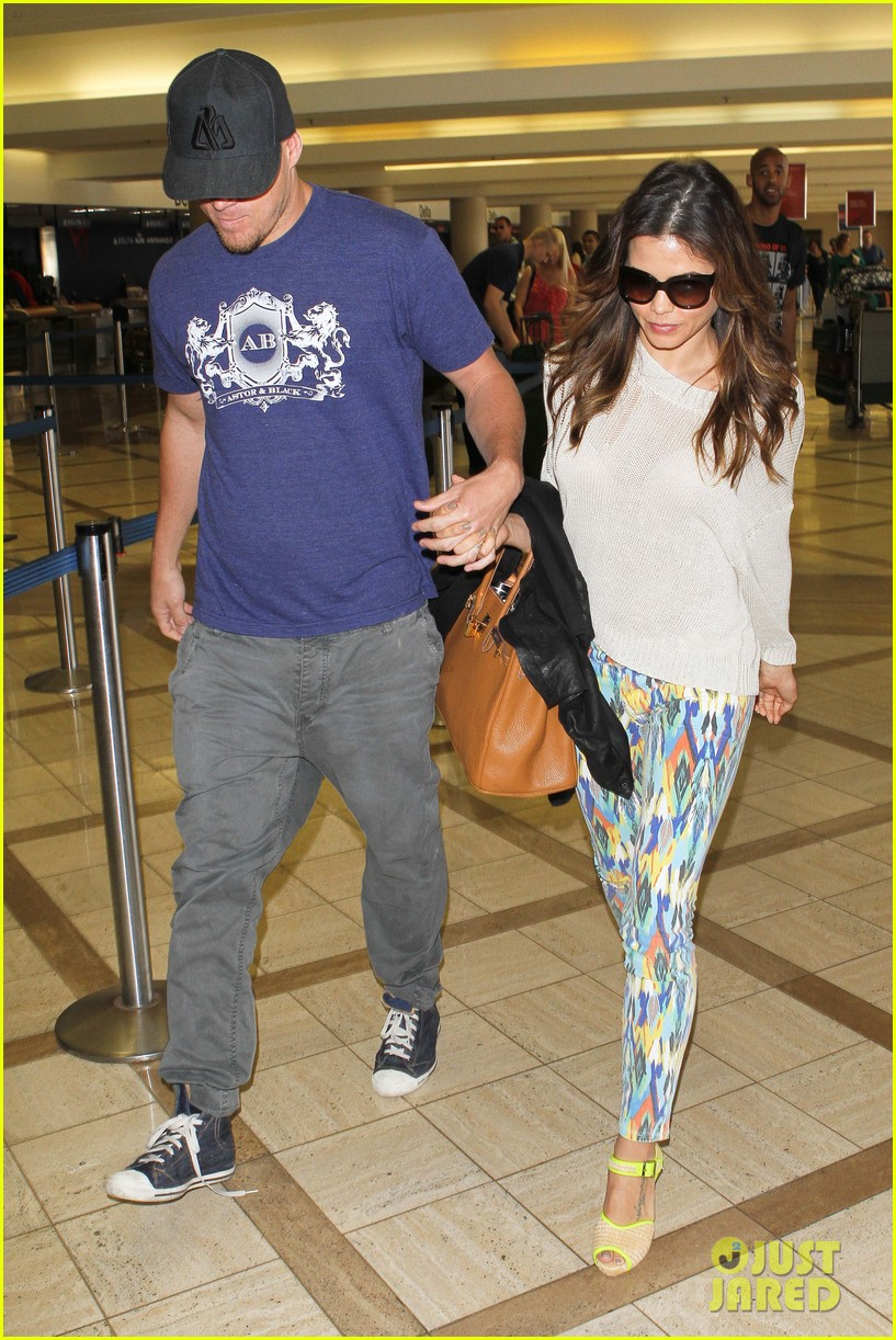 channing jenna leaving lax 11