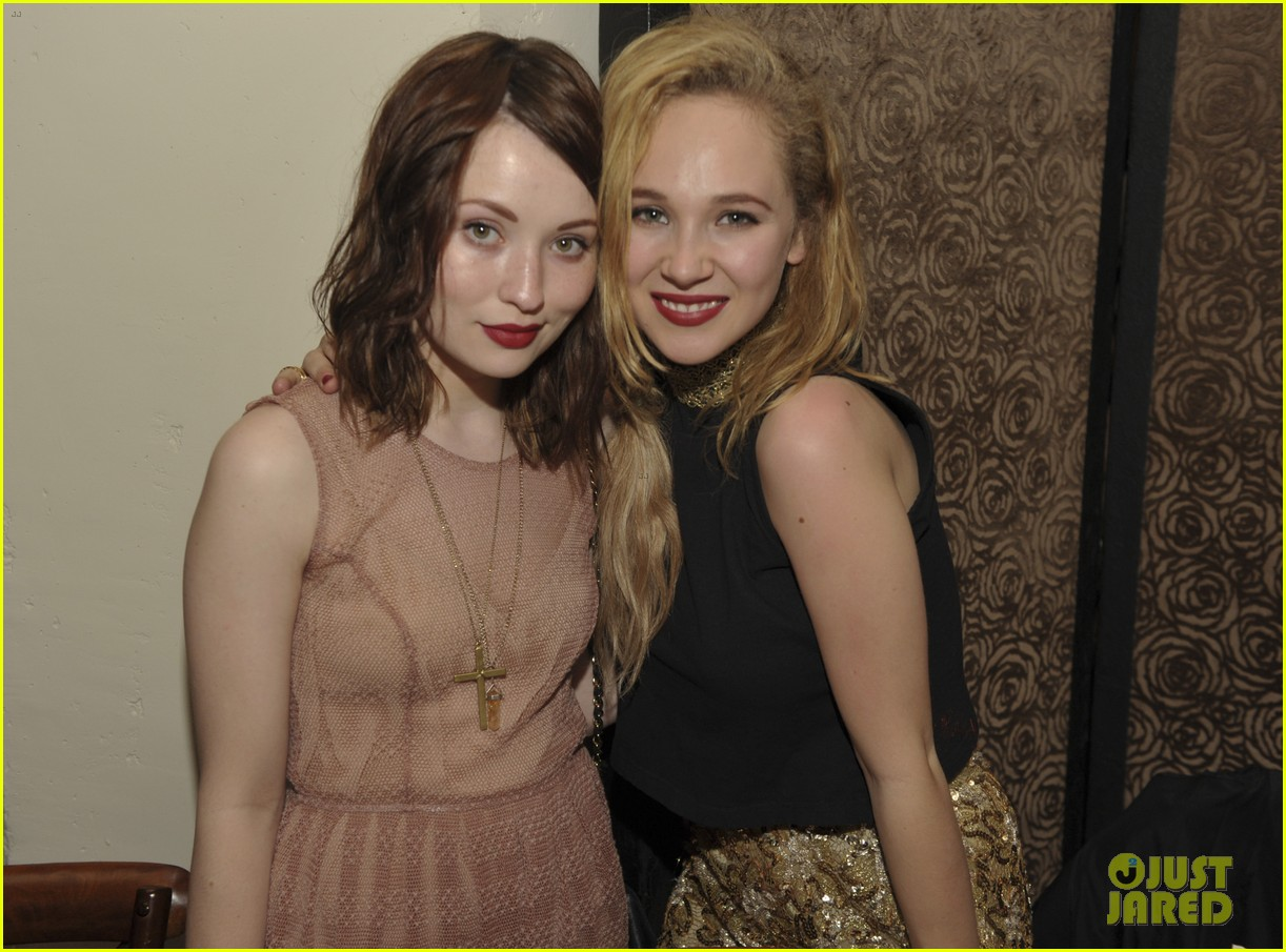 june temple emily browning nylons young hollywood party 01