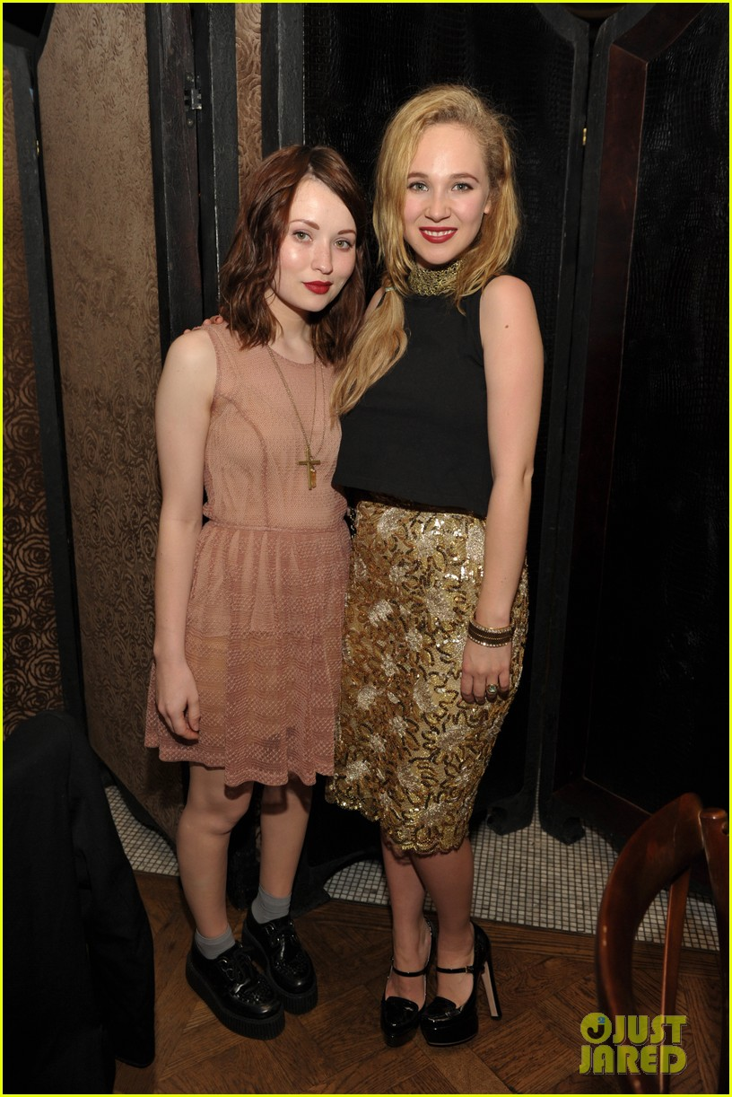 june temple emily browning nylons young hollywood party 16
