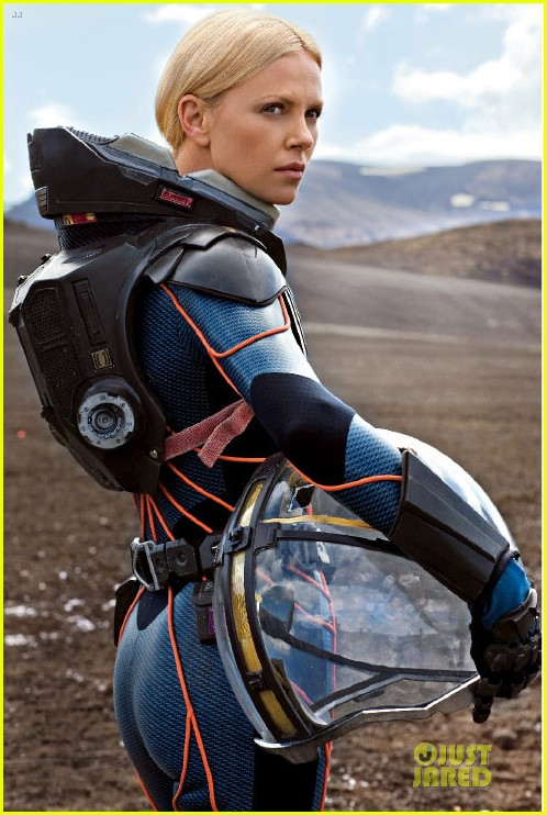 charlize theron prometheus covers entertainment weekly 012660143