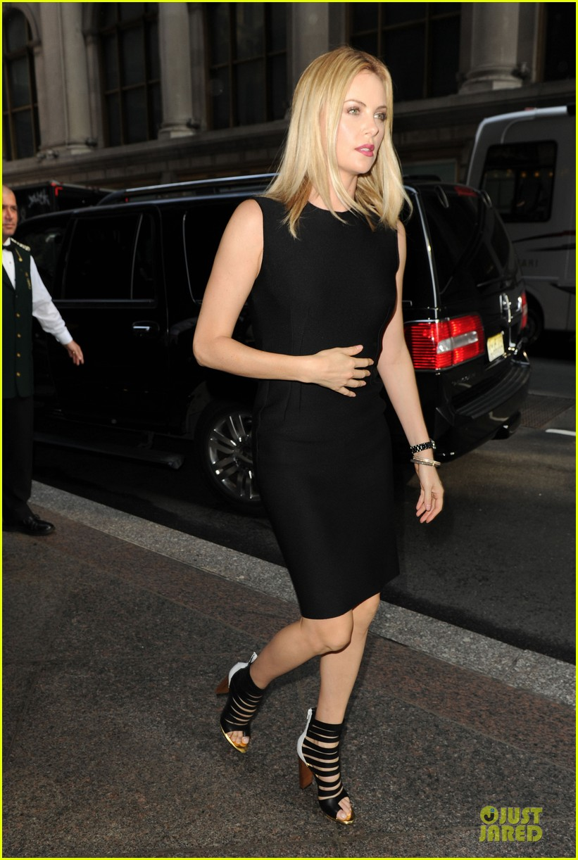 charlize theron today show 08