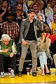 justin timberlake jessica biel lakers game 15