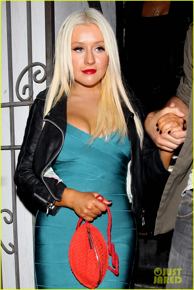 christina aguilera date night 02