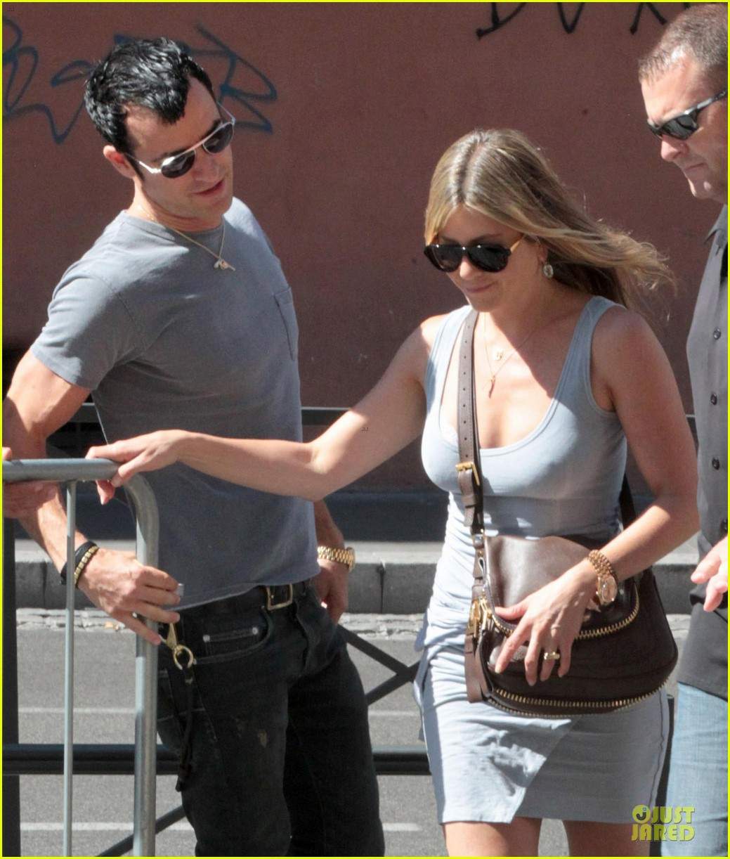 jennifer aniston justin theroux rome 05