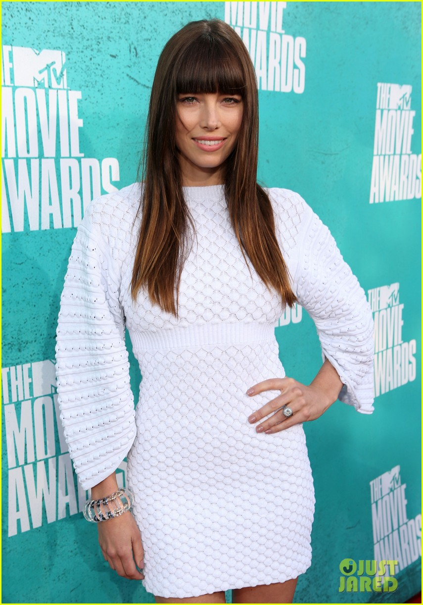 jessica biel mtv movie awards 2012 072670153