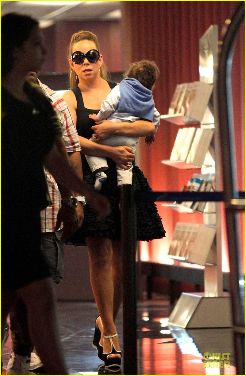 mariah carey nice airport dem babies 04