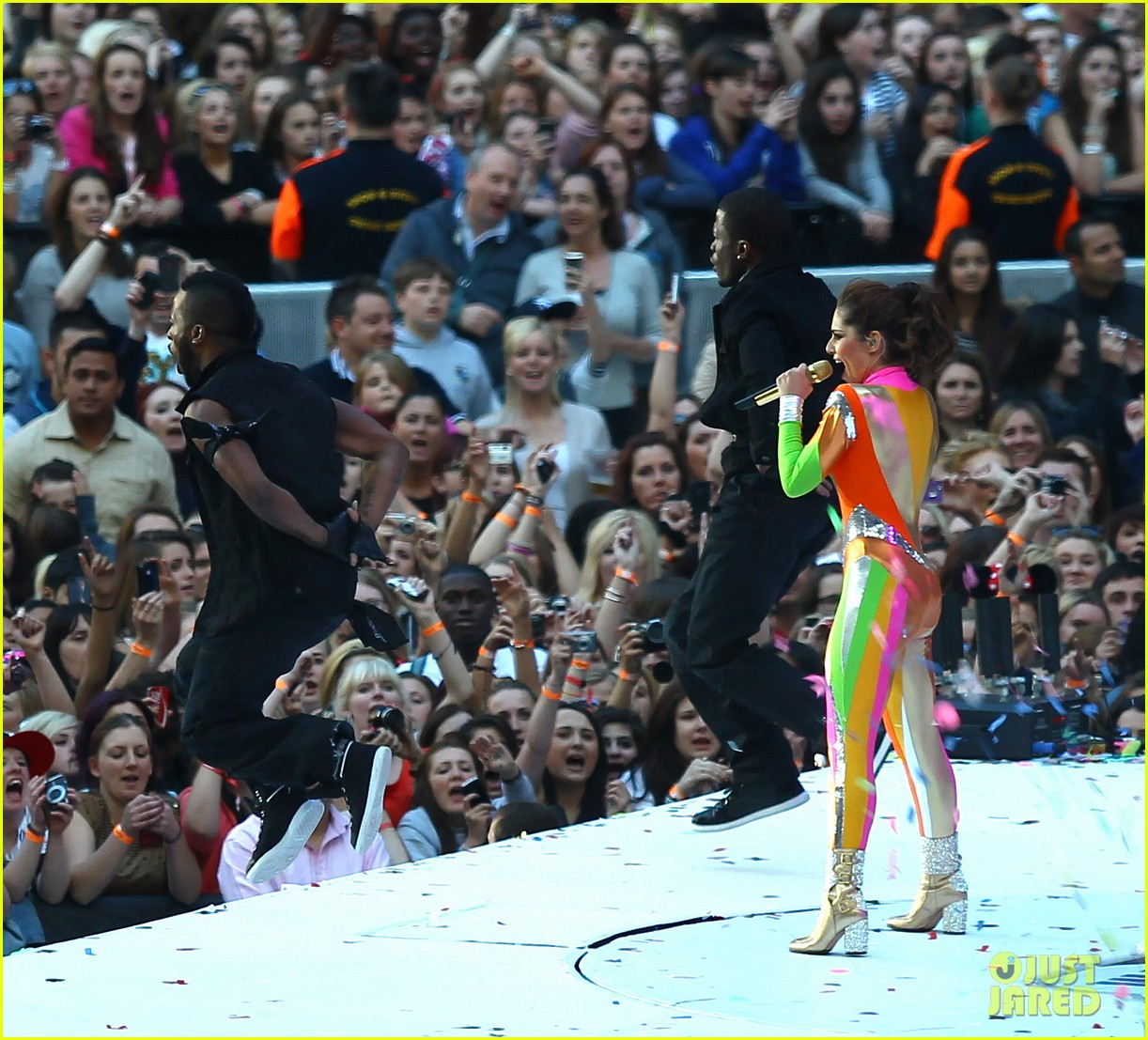 cheryl cole rita ora summertime ball 28