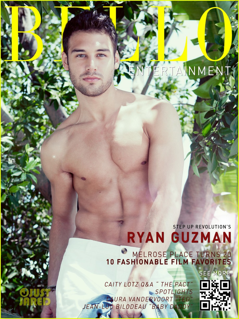 04 ryan guzman shirtless bello magazine