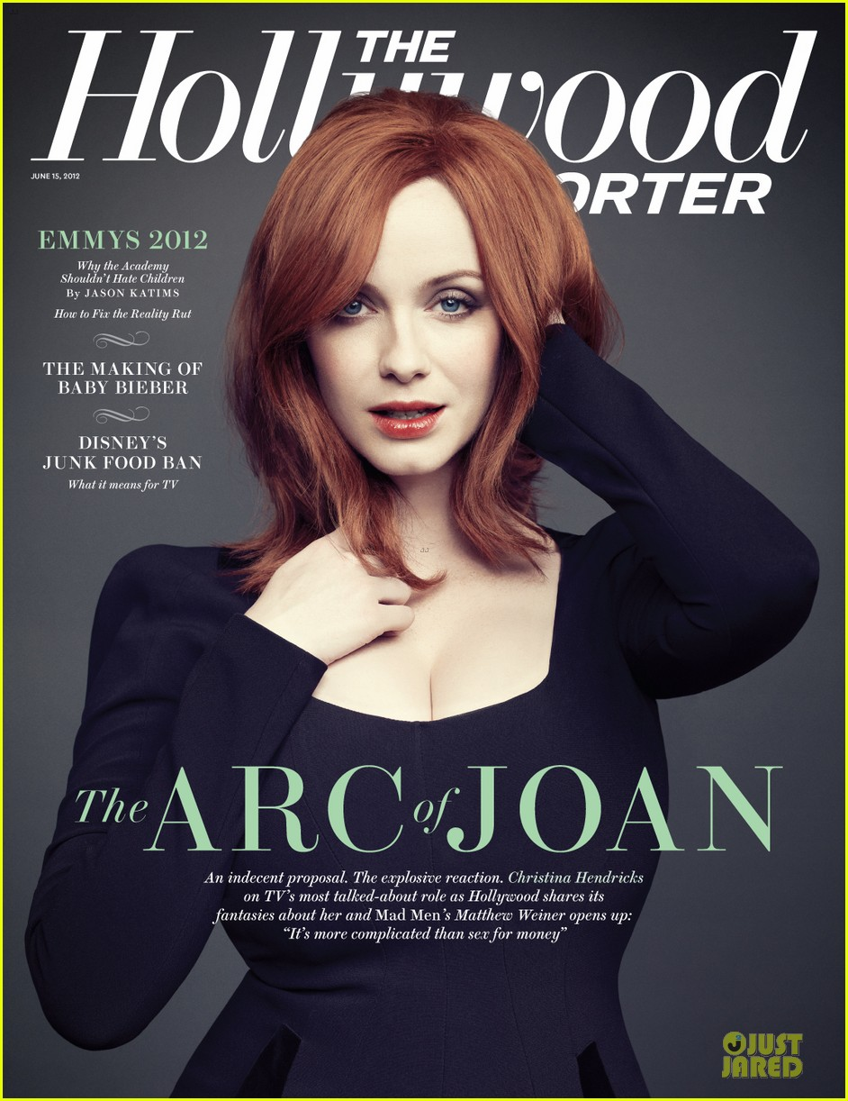 Full Sized Photo Of Christina Hendricks Hollywood Reporter