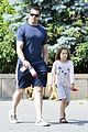 hugh jackman fathers day walk 04