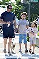 hugh jackman fathers day walk 07