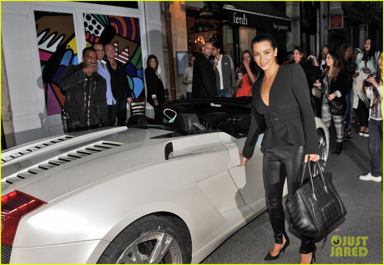 kim kardashian kanye west fancy night out 02