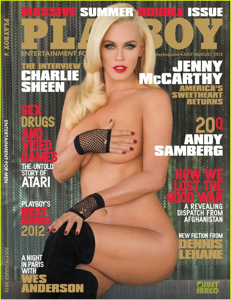 Posted in Jenny McCarthy: 'Playboy' Cover at 39!