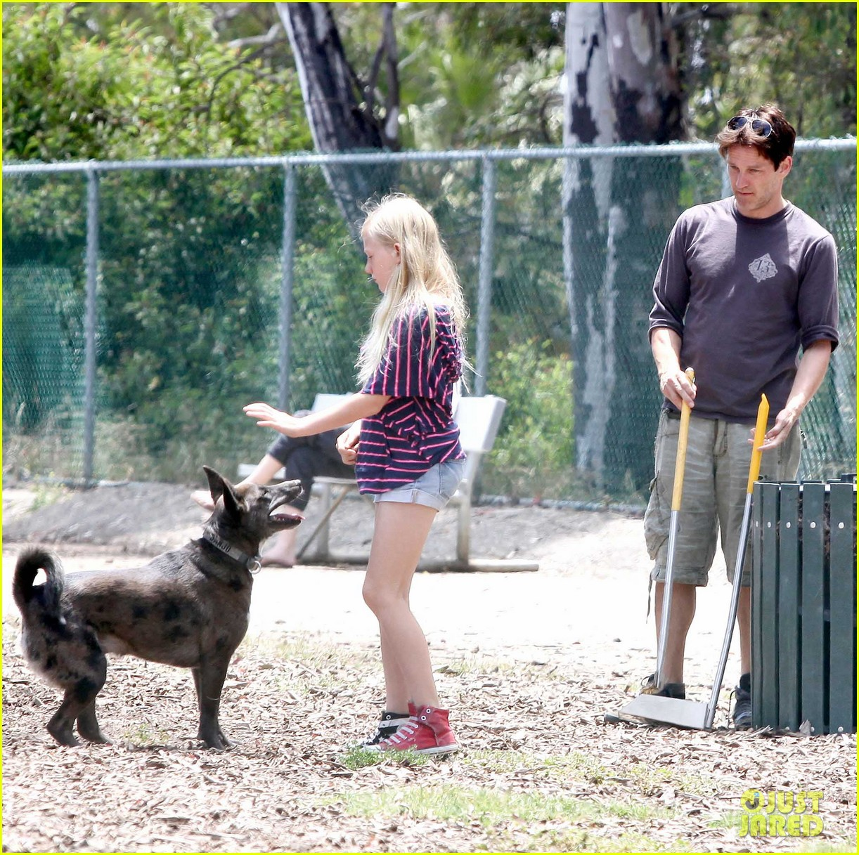 stephen moyer walking dogs with lilac 102669935