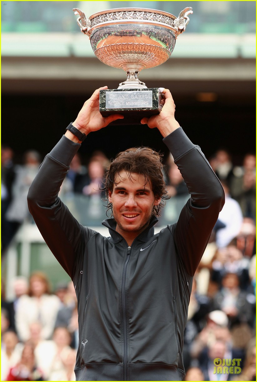rafael nadal maria sharapova history french open 17