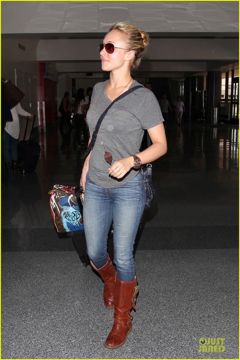 hayden panettiere peace out lax 05