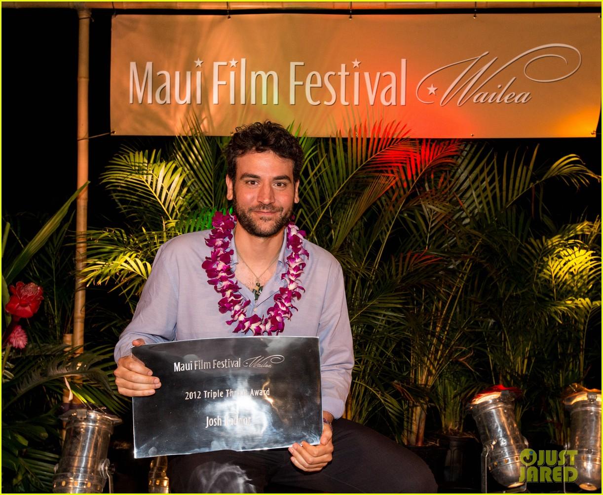 josh radnor maui film festival 09