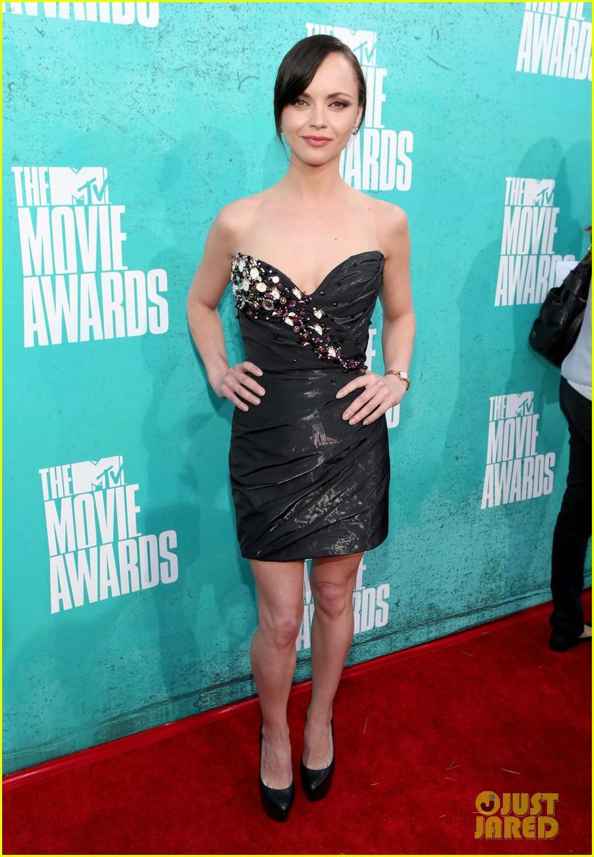 christina ricci 2012 mtv movie awards 02
