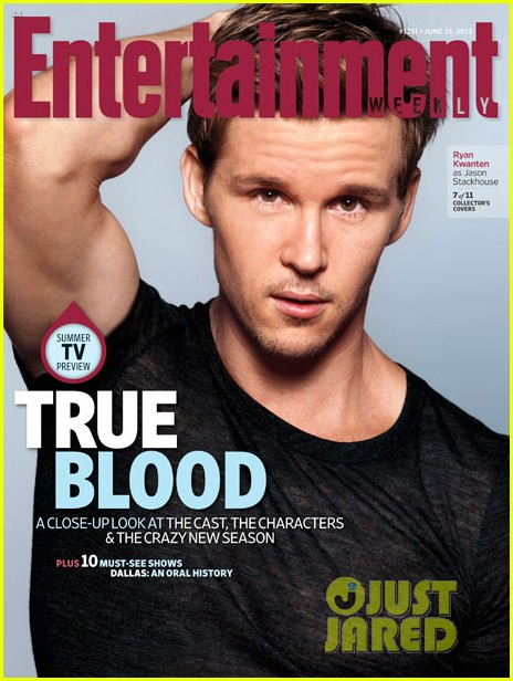 alexander skarsgard true blood cast covers entertainment weekly 052671580