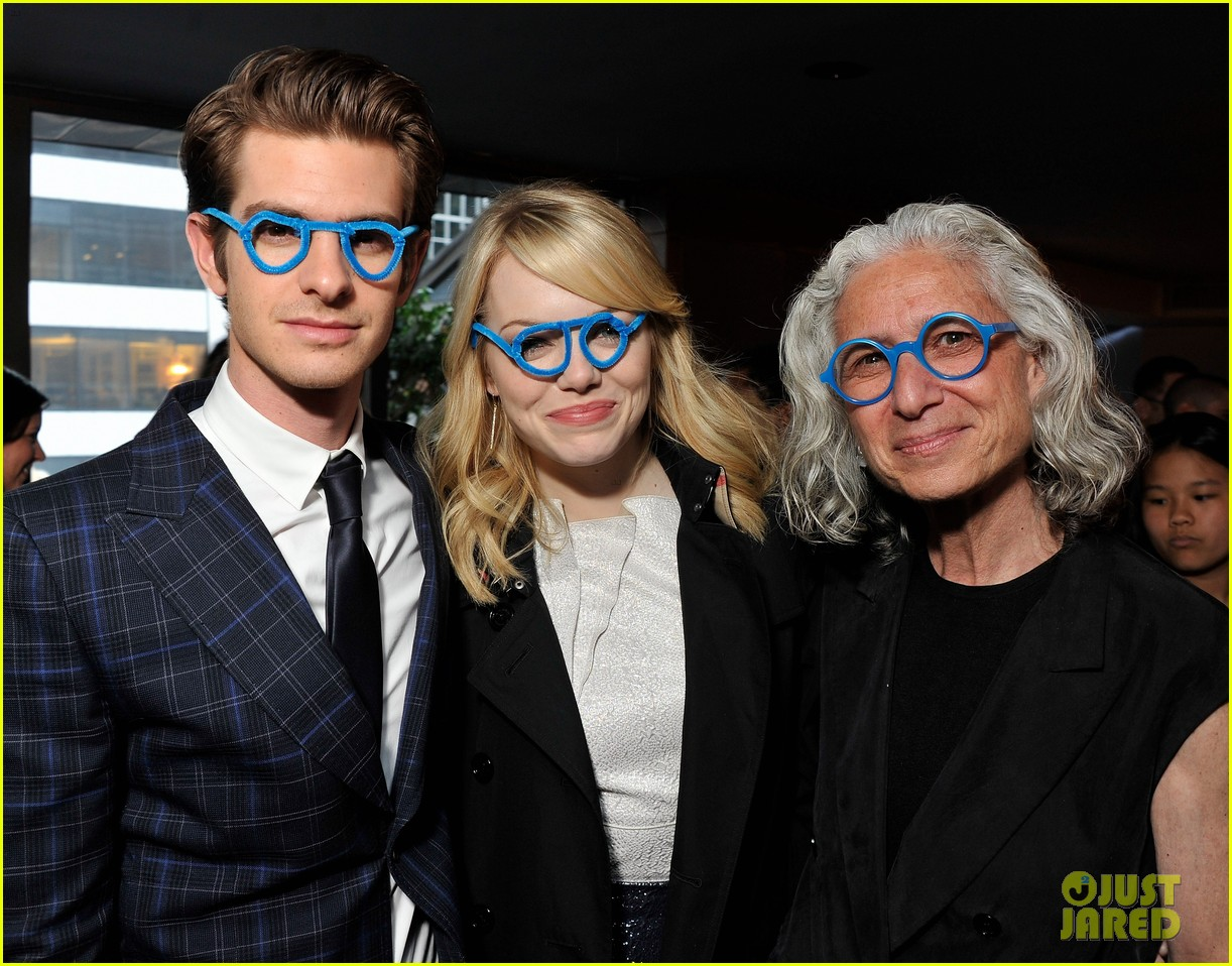 emma stone andrew garfield worldwide oprhans event 09