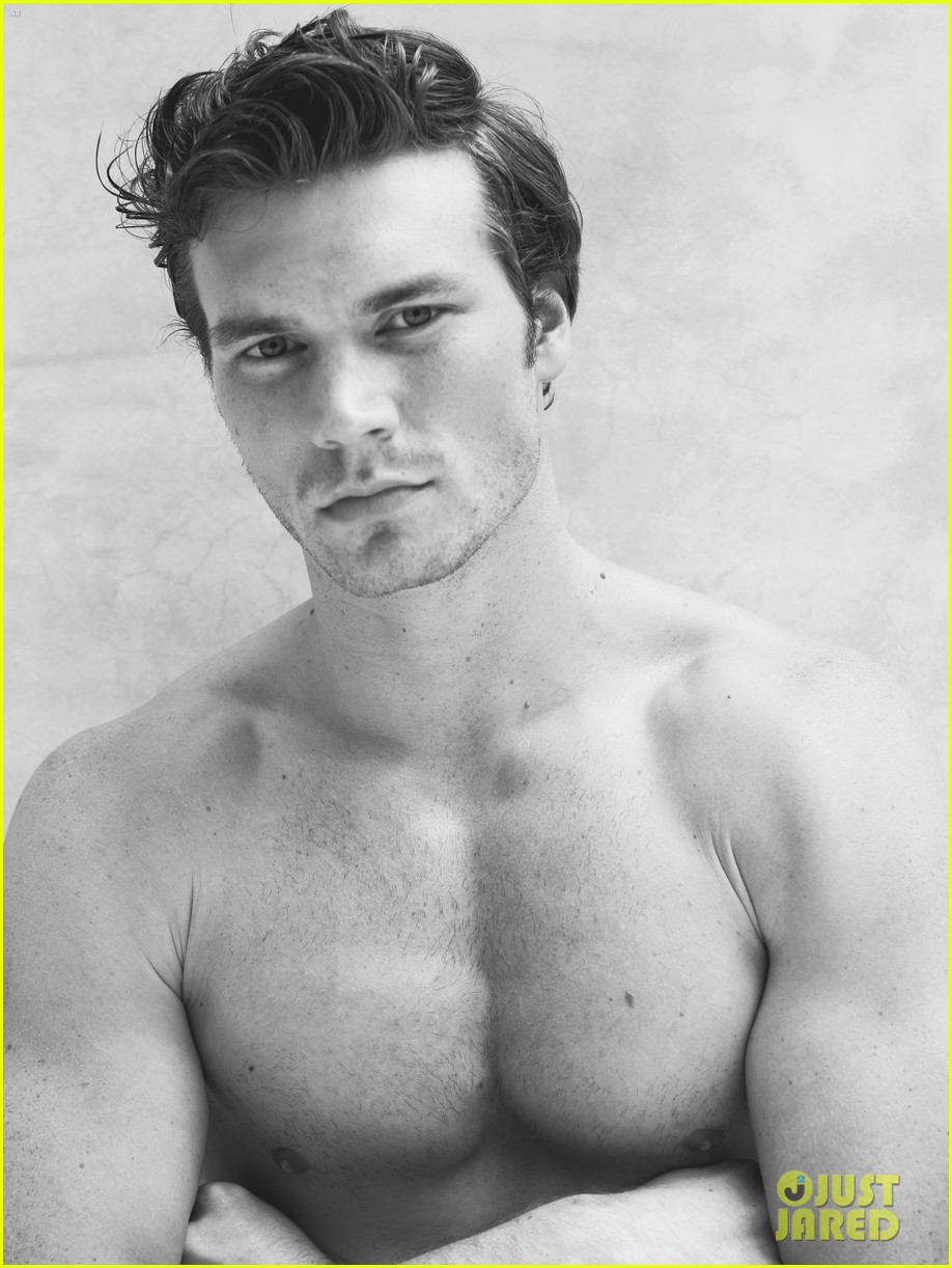 derek theler shirtless just jared photo shoot 05