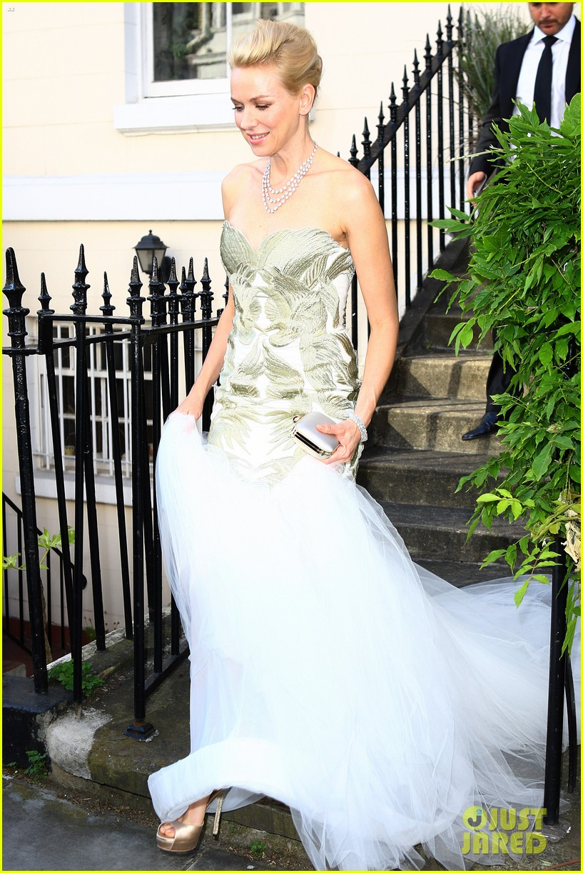 naomi watts white tie tiara ball london 05