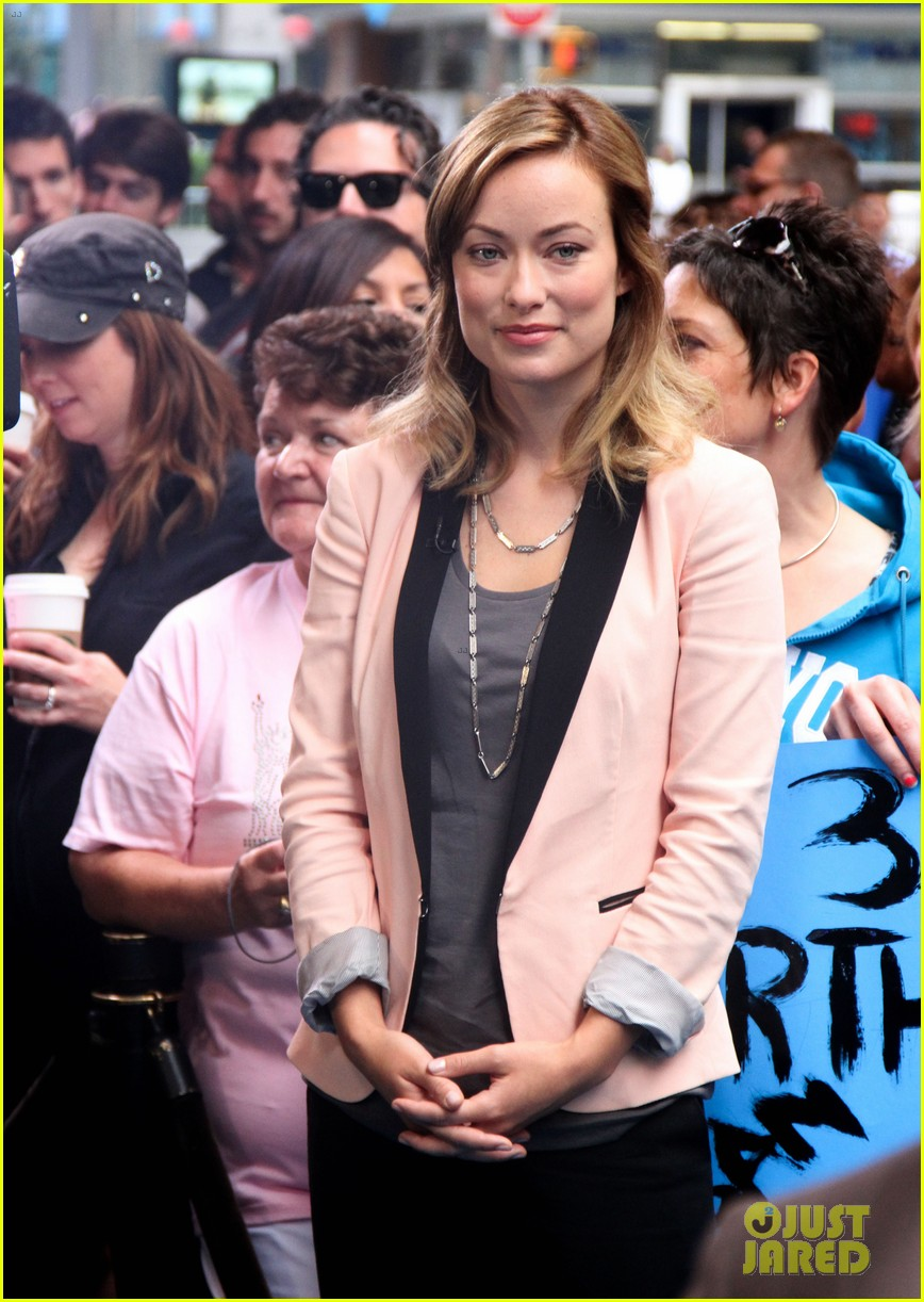 olivia wilde good morning america 12