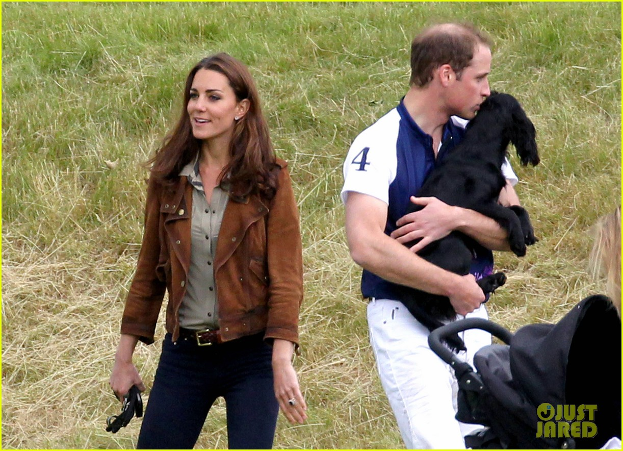 prince william charity day kisses for lupo photo