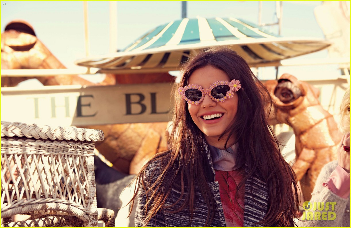 drew barrymore photographs victoria justice for v 01