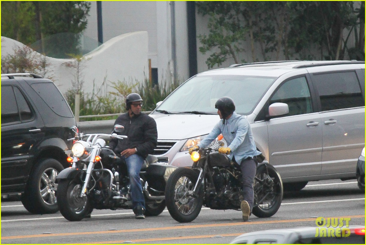 david beckham motorcycle cruising 16