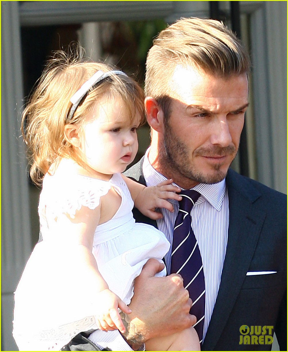 david victoria beckham notting hill lunch with harper 02