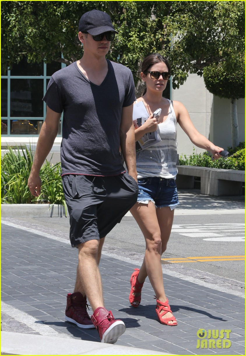 rachel bilson hayden christensen culver city shopping 15