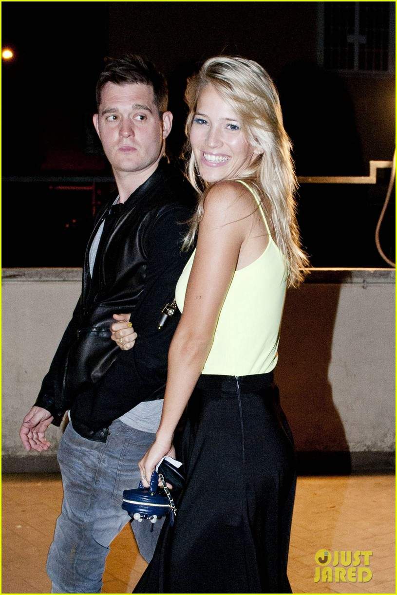 michael buble luisana lopilato playful parioli pair 02