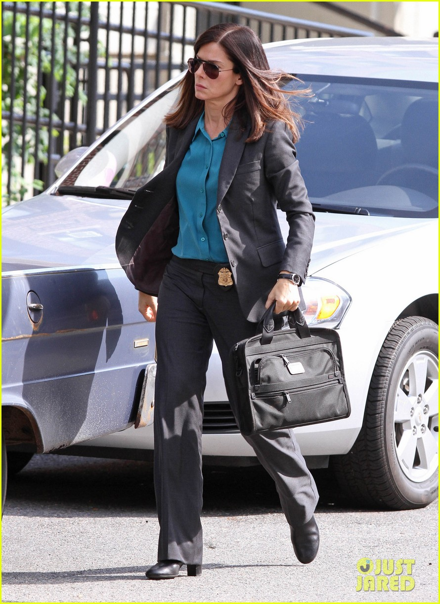 sandra bullock the heat set with melissa mccarthy 04