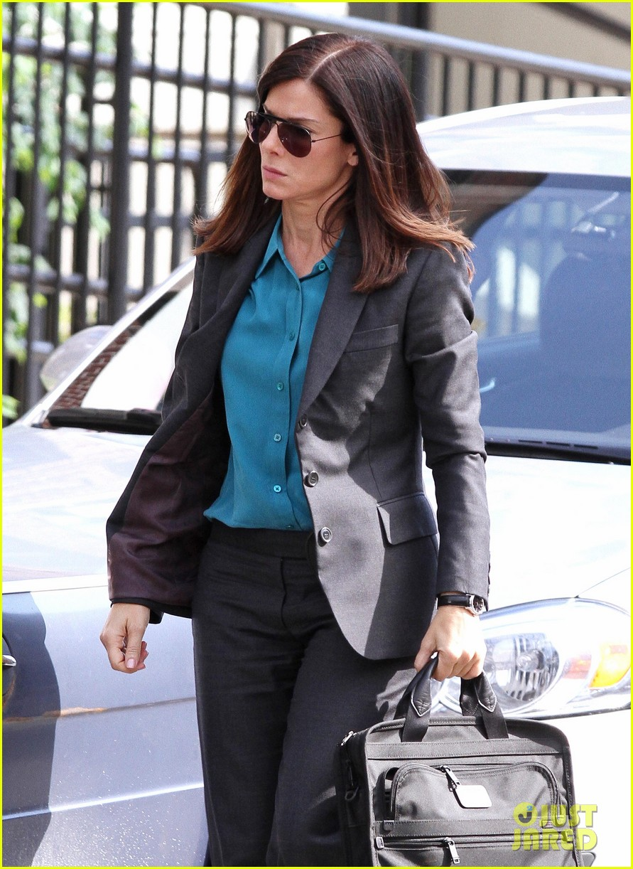 sandra bullock the heat set with melissa mccarthy 142689708