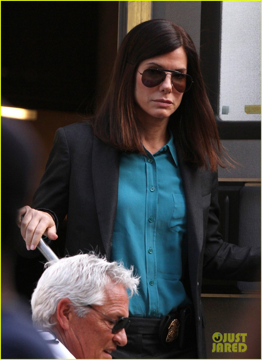 sandra bullock the heat set with melissa mccarthy 15