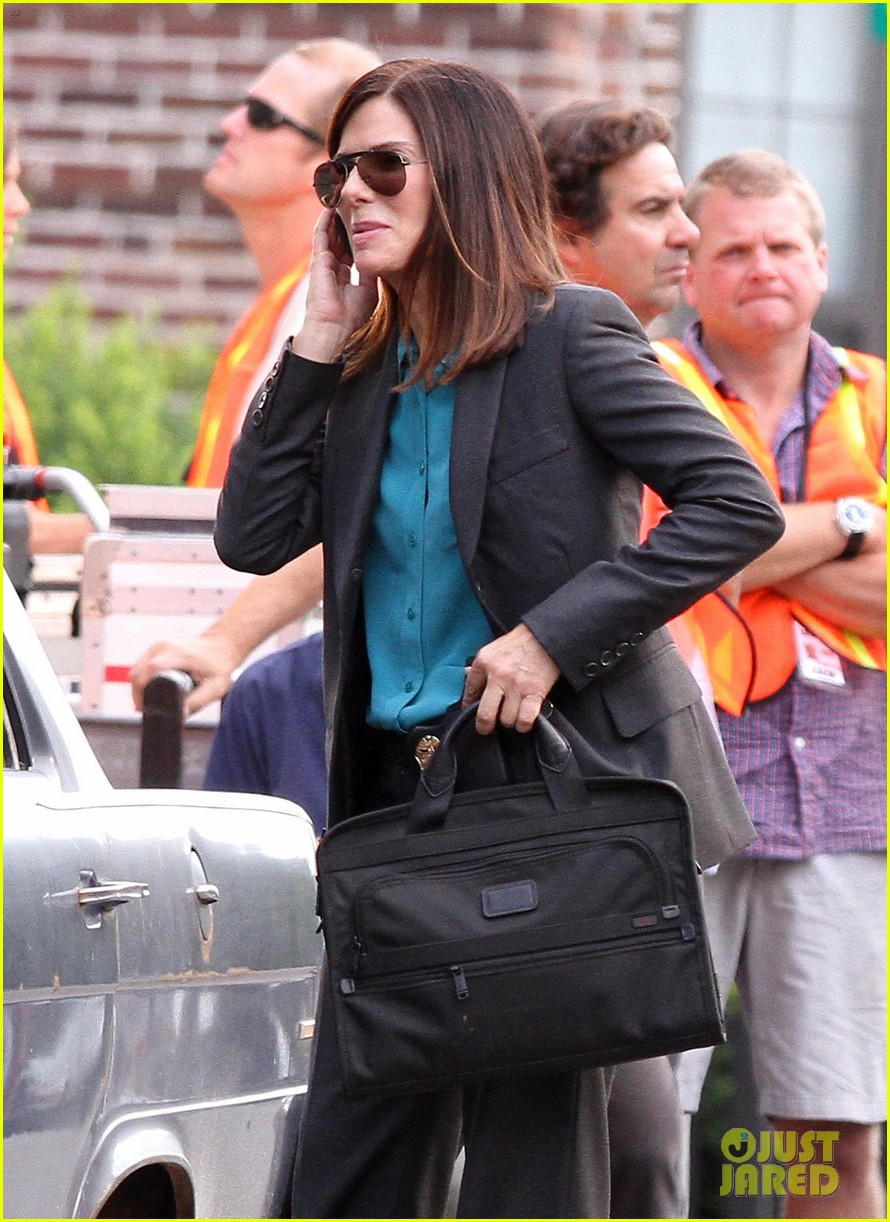 sandra bullock the heat set with melissa mccarthy 20