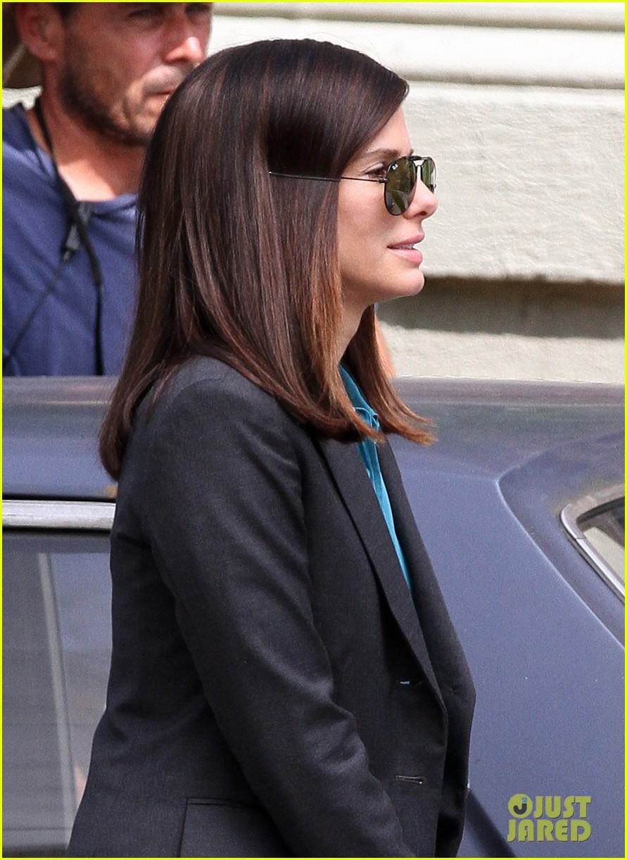 sandra bullock the heat set with melissa mccarthy 23