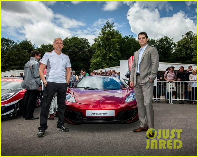 henry cavill goodwood festival of speed 05