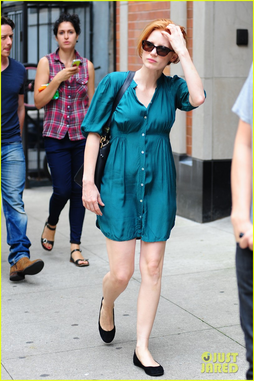 jessica chastain viola davis eleanor rigby set 02