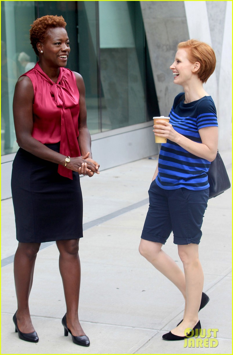 jessica chastain viola davis eleanor rigby set 082694538