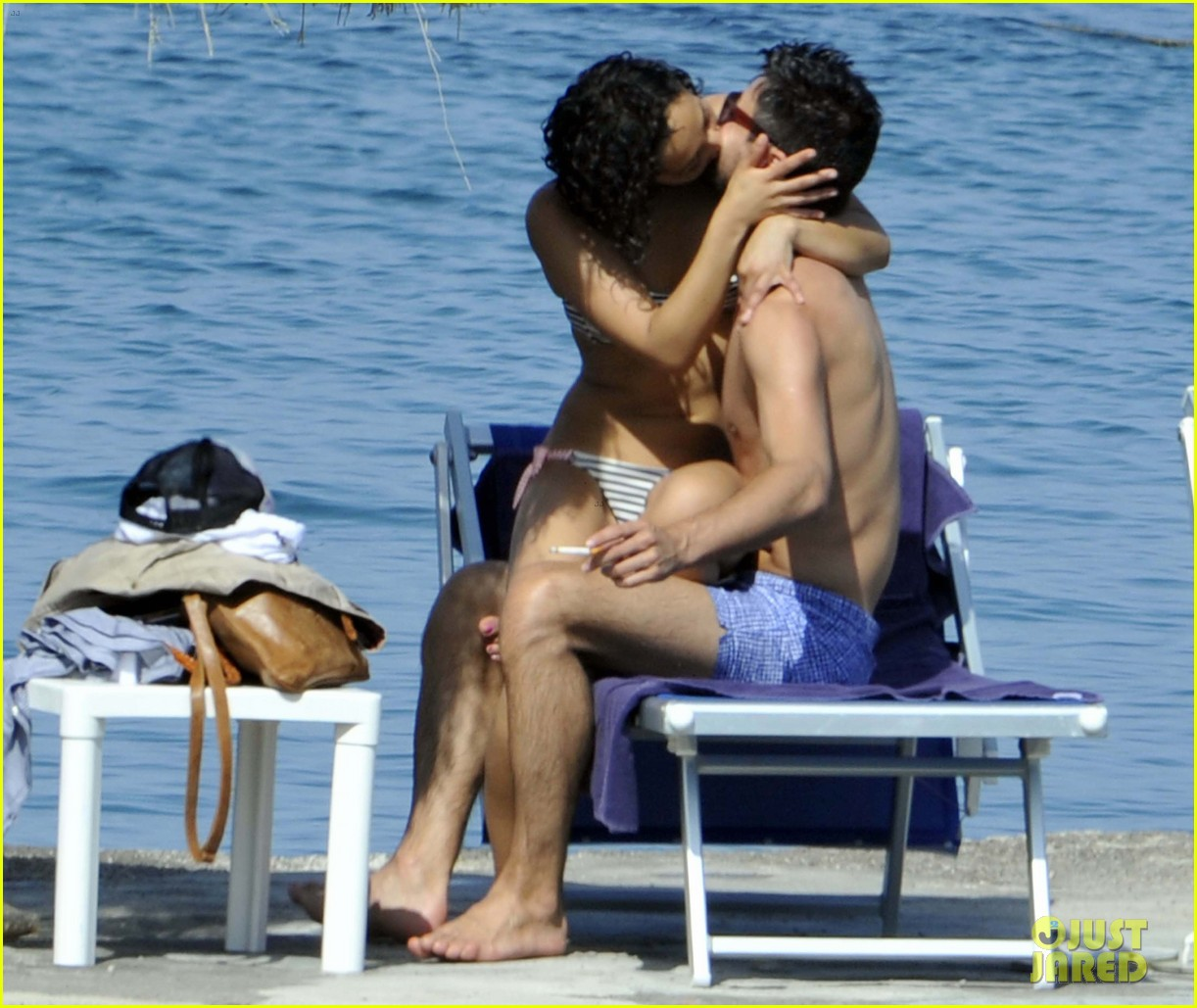 dominic cooper shirtless pda filled vacation with ruth negga 02