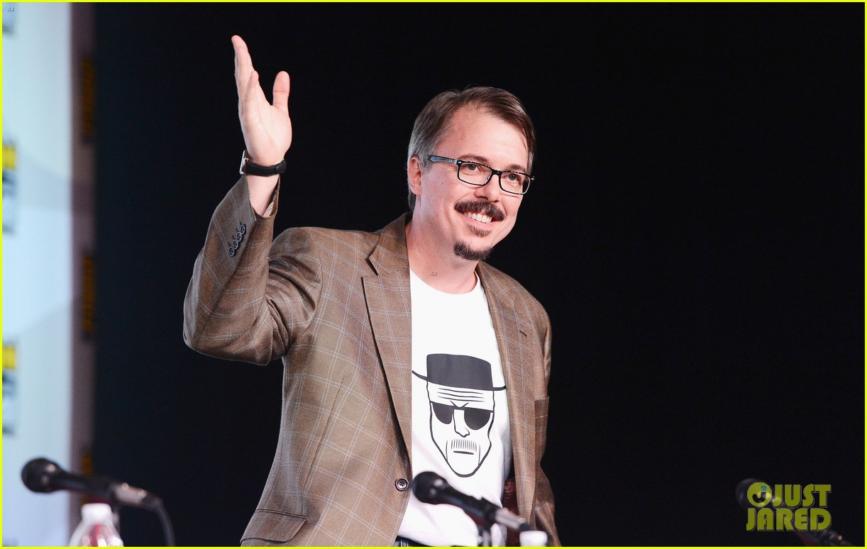 aaron paul bryan cranston breaking bad at comic con 22
