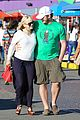 anna faris santa monica pier with chris pratt 13