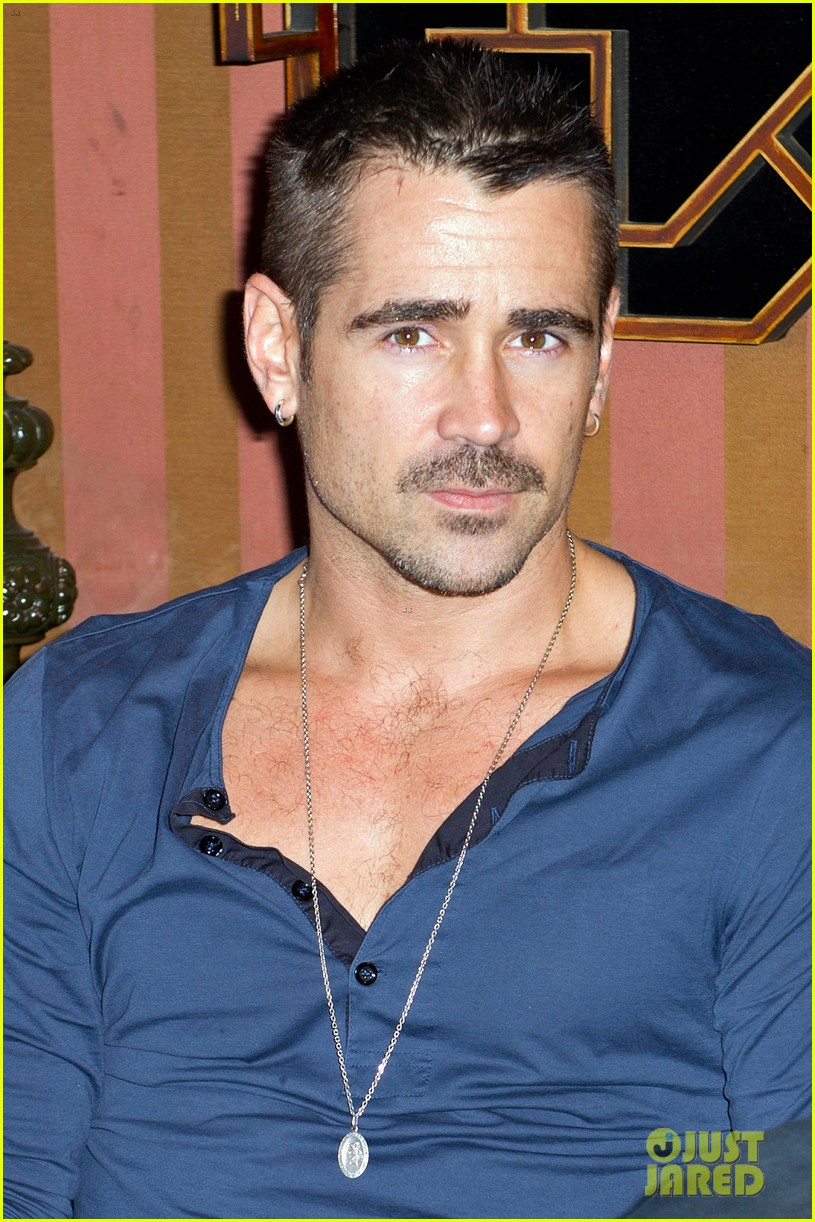 colin farrell total recall paris photo call 02