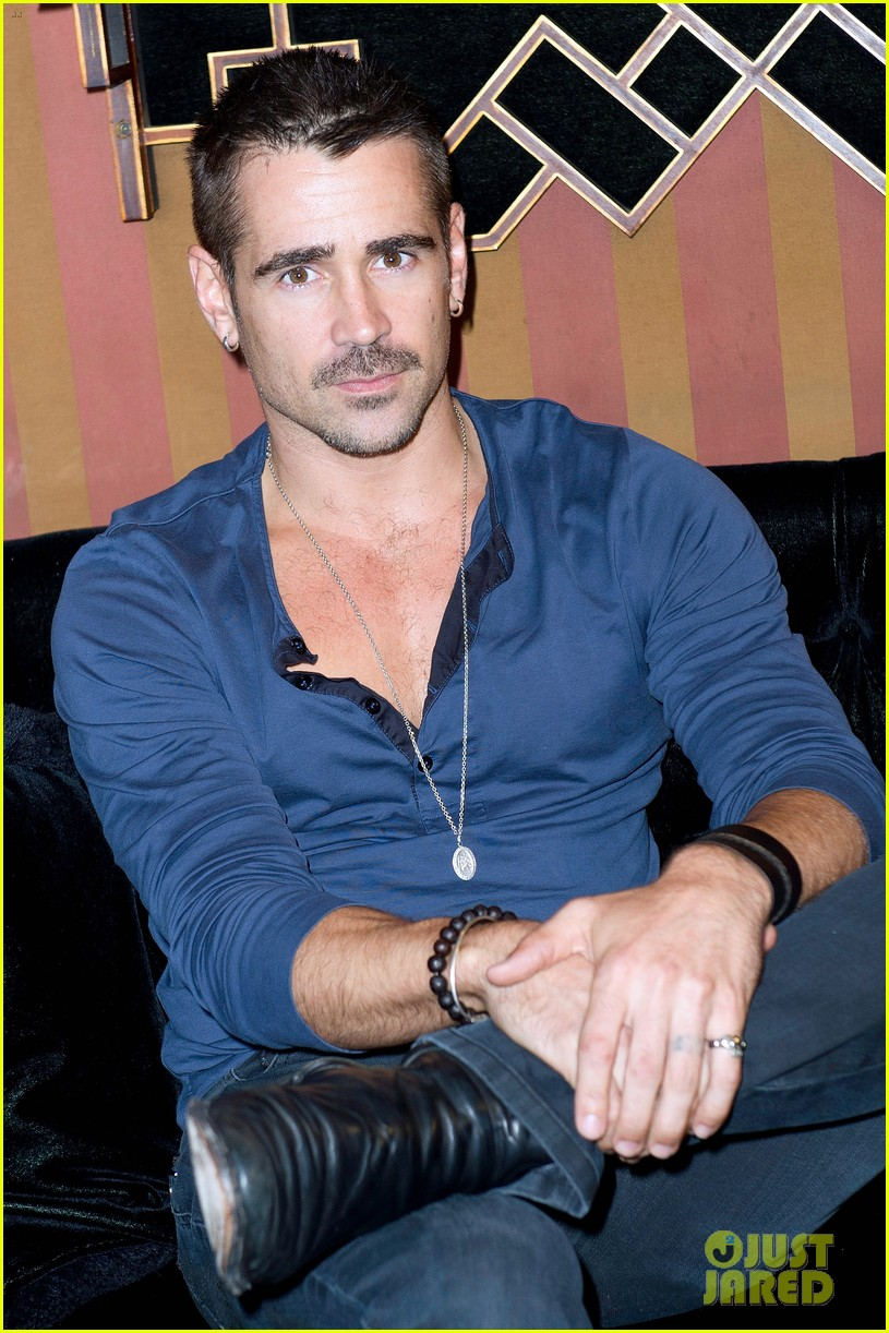 colin farrell total recall paris photo call 04