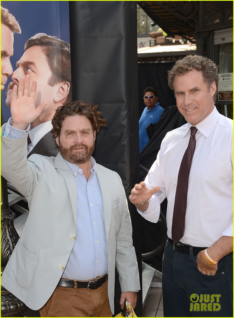 ferrell galifianakis campaign tour launch 08