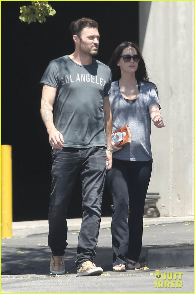 megan fox brian austin green lunch with kassius 11