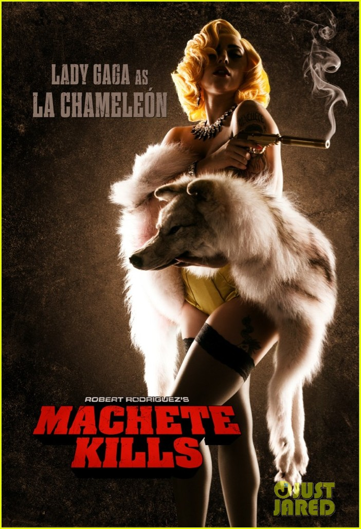 lady gaga joins machete kills new poster revealed 01