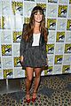 lea michele glee cast hits comic con 2012 01